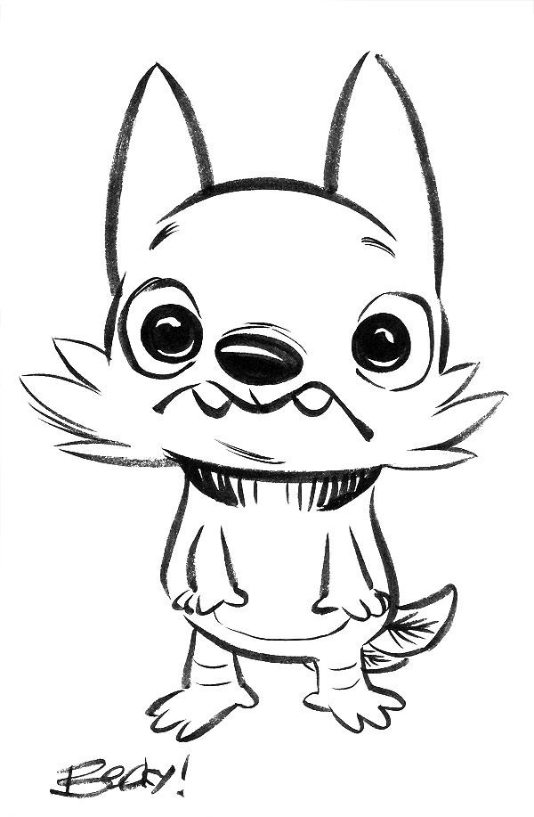 Owldog (Guest art by Becky Dreistadt)