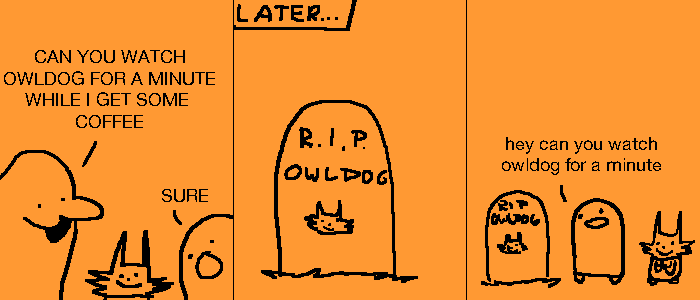 Owldog's Day Out